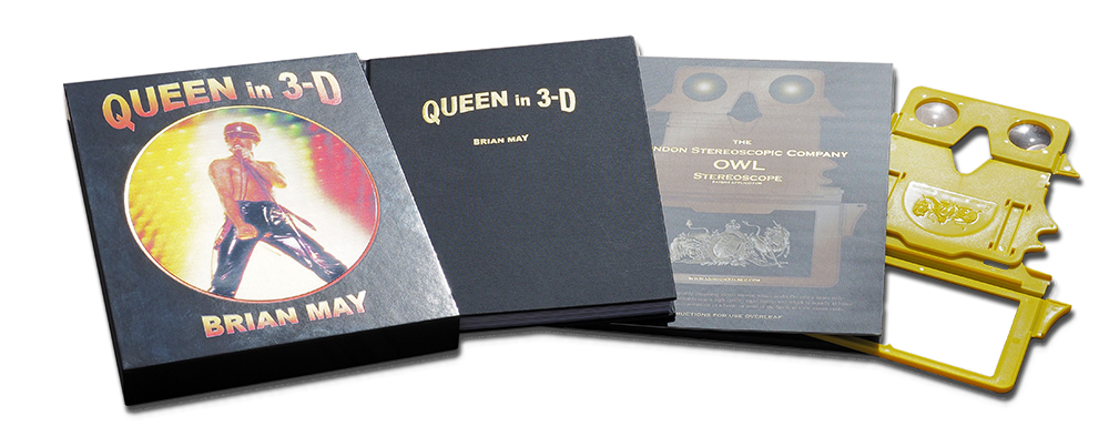 Queen In 3-D spread