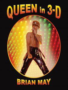 Queen In 3-D slipcase cover