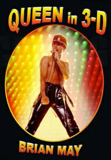 Queen in 3-D book cover
