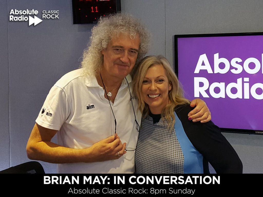Brian May and Claire Sturgess, Absolute Radio