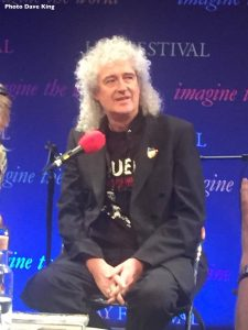 Brian May interview for Radio Wales