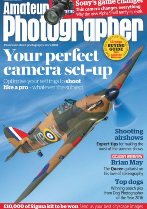 Amateur Photographer July 2017 cover