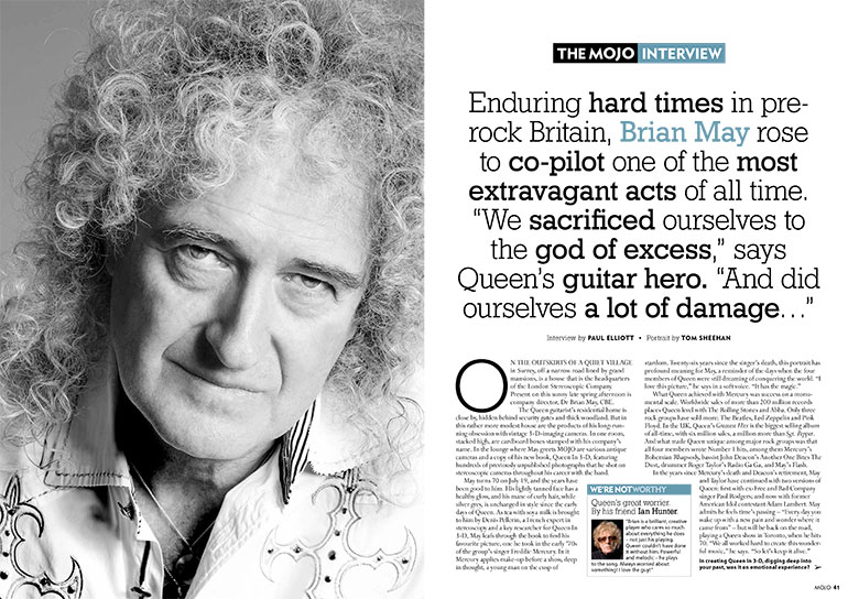Brian May MOJO INTERVIEW
