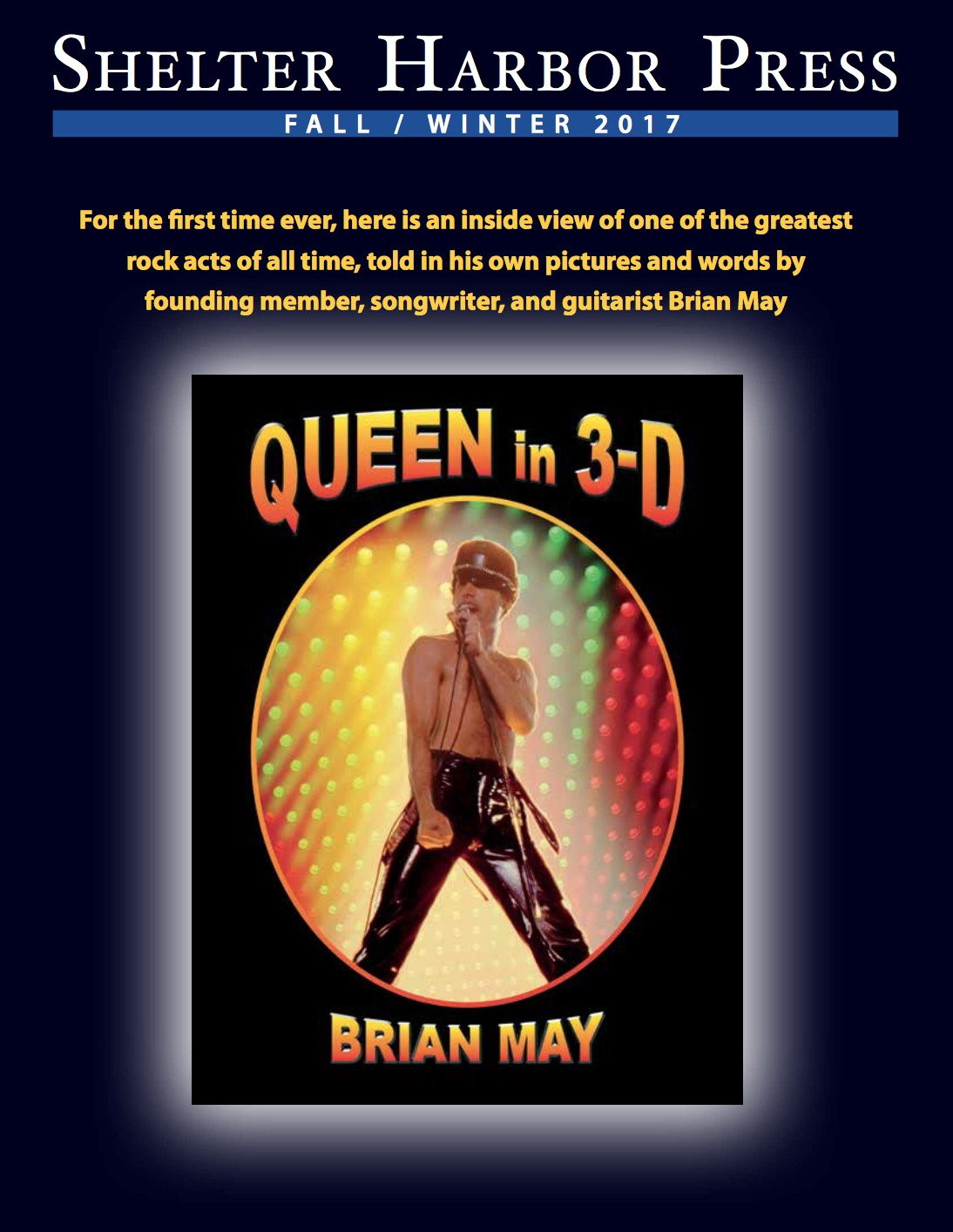 Queen in 3-D, Shelter Harbor Press
