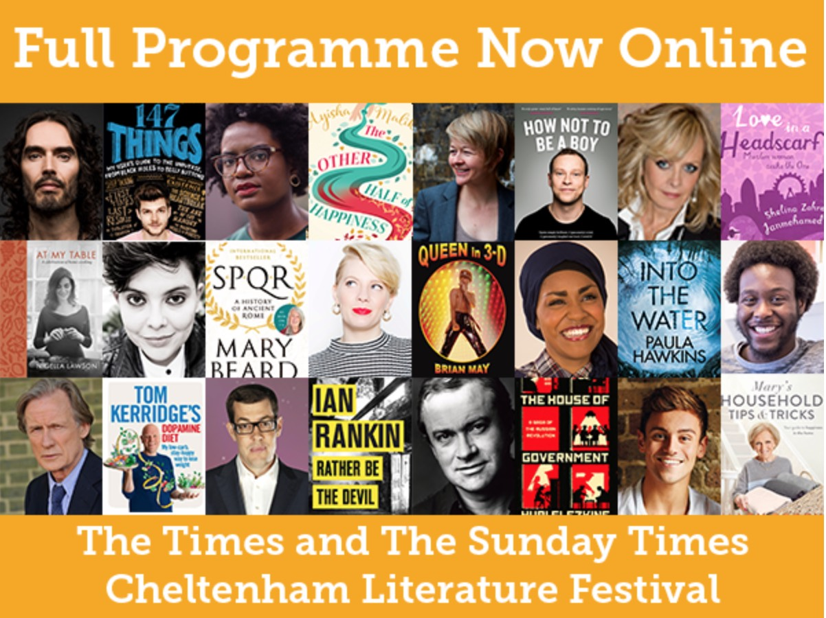 Cheltenham Literay Festival 2017 line-up