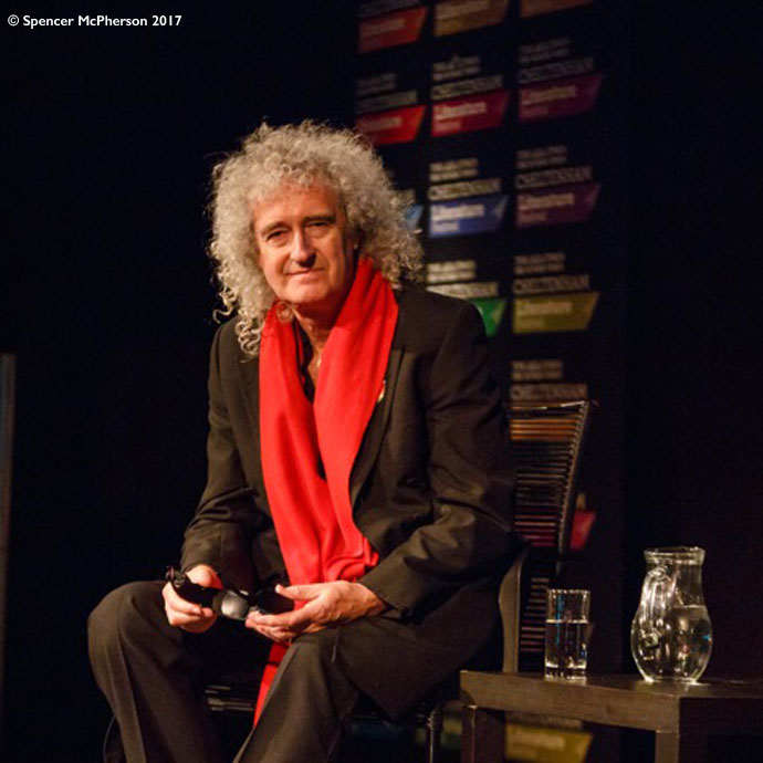 Brian May at Cheltenham