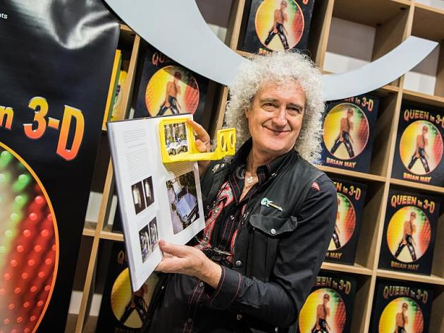 Brian May - Frankfurt book launch