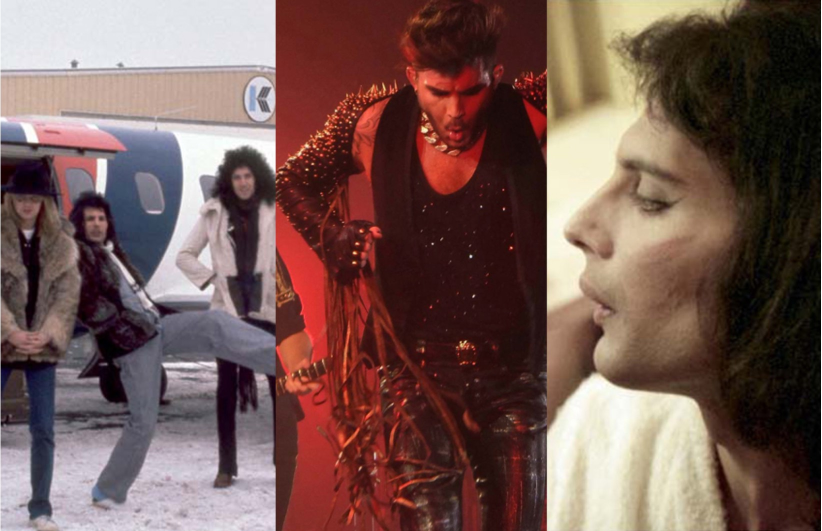 3 photos - Queen, Adam, Freddie