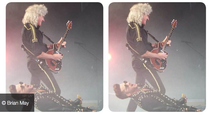 Brian and Adam stage shot - stereo
