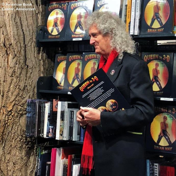 Brian May, ABC, Amsterdam