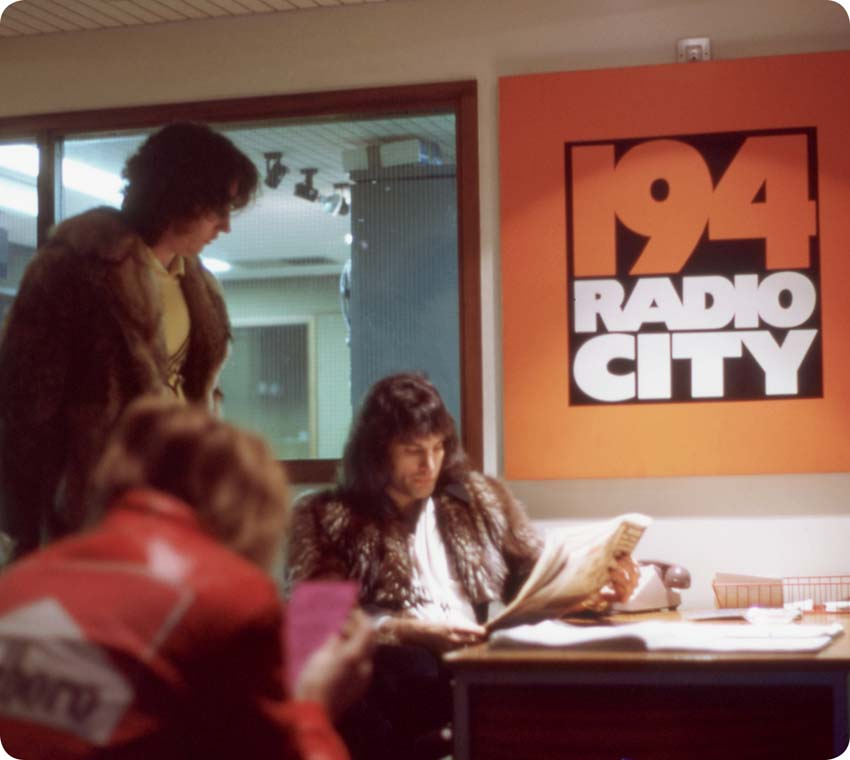 Freddie at Radio City