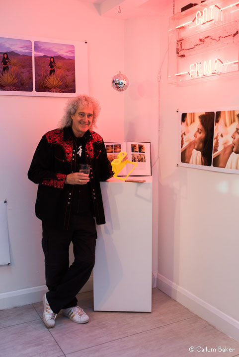 Brian May at Lumography