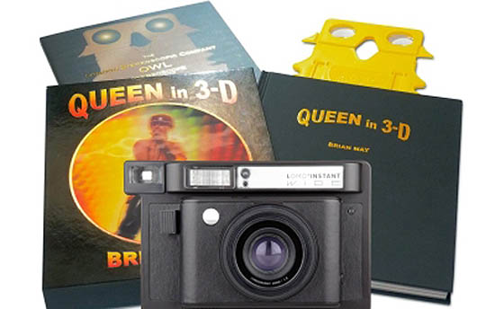 Lomo Camera and Queen in 3-D