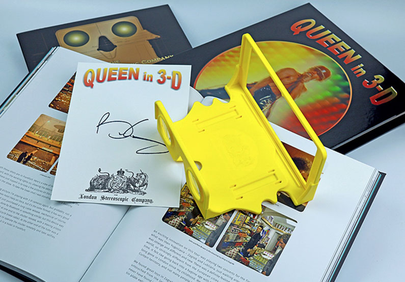 Signed Queen In 3-D First Edition