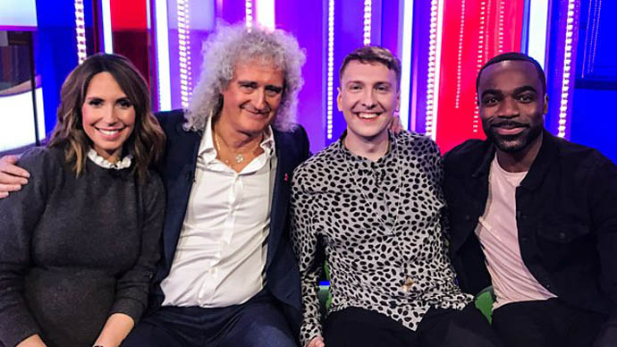 Alex Jones, Bri, Joe Lycett, Ore Oduba - The One Show [Photo: BBC One]