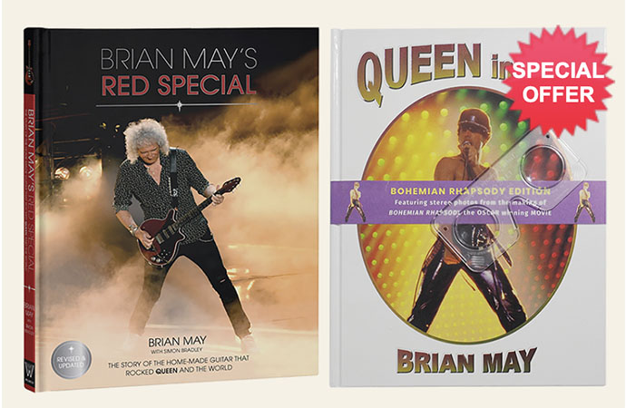 Brian Mays Red Special + Queen In 3-D books