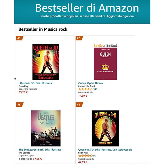 Amazon Italy Bestselling books
